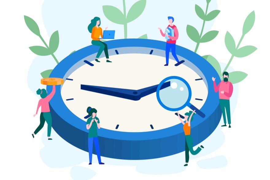 Novos horários de aulas online e presenciais